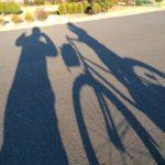 子どもと自転車と私